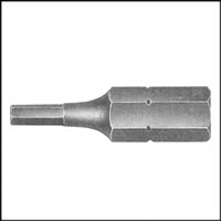 Screwdriver Bit INSERT 1/8 HEX