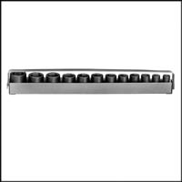 "Impact Socket SET W/TRAY 3/8"" Dr., 12 Pc. 6 Pt. Std.Metric 8mm -"