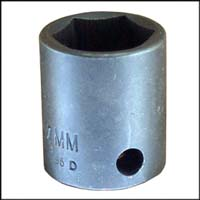 "38-12MM Impact Socket 3/8"" DR X 12MM"
