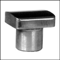 528-D2 Planishing Hammer Lower Die, Rectangular