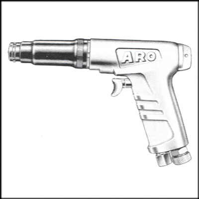 ARO 7515-D REBUILT PISTOL SCREWDRIVER, REVERSIBLE, ADJ CLUTCH
