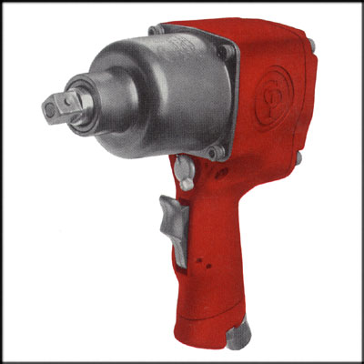"Chicago Pneumatic CP-6440RS REBUILT 1/2"" PISTOL PIN ANVIL IMPACT"