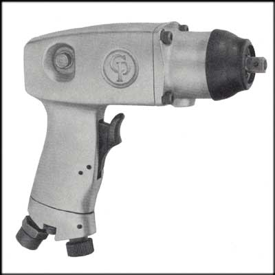 "Chicago Pneumatic CP-9532-RS REBUILT 3/8"" PISTOL IMPACT"