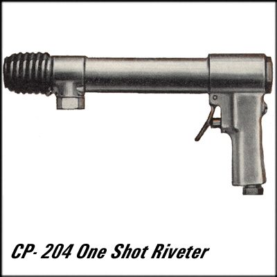 Chicago Pneumatic CP-204 REBUILT ONE-SHOT RIVETER