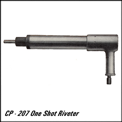 Chicago Pneumatic CP-207 REBUILT ONE SHOT RIVETER