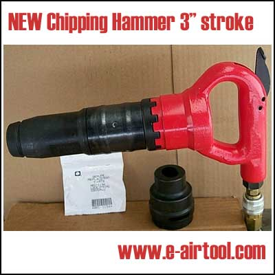 NEW Pneumatic Chipping Hammer 3 in. stroke.