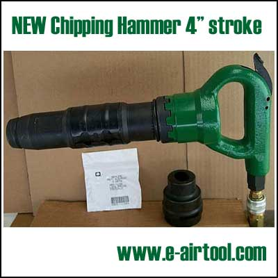 NEW Pneumatic Chipping Hammer 4 in. stroke.