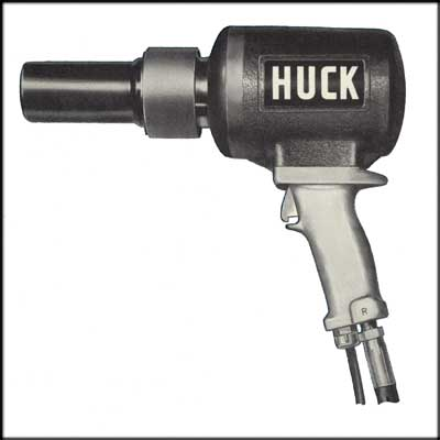 Huck 505 REBUILT RIVETER, LESS NOSE ASSEMBLY