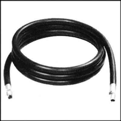 Industrial Whip Hose With Fittings 1/2 In x 10 Ft