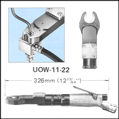 URYU UOW-11-22 REBUILT WRENCH, OPEN END