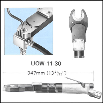 URYU UOW-11-30 REBUILT WRENCH, OPEN END