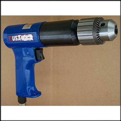 "Vision Air VA-D310 NEW PISTOL DRILL, 1/2"" CAP"
