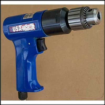 2,800 rpm 3/8 inch drive reversible low speed drill