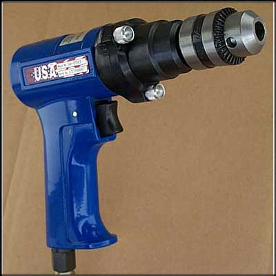 "Vision Air VA-D583 NEW PISTOL DRILL, 3/8"" LIGHTED"