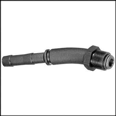 "Air Inlet Hose Swivel. Description:7/8""-24 thread with 1/2"" hose"