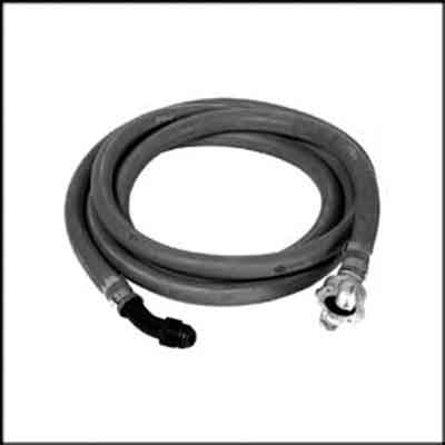 "Air Inlet Hose Swivel. Description:Swivel with 1/2"" x 10 ft. whi"